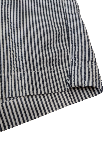 [L] A New Day Seersucker Pinstripe Shorts