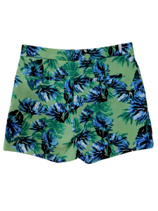 [XS] Banana Republic Green Floral Shorts