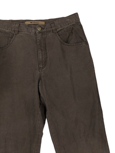 [34] Columbia River Lodge Brown Cargo Pants