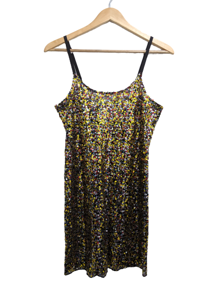 [M] Intimately Free People Sequin Slip Dress
