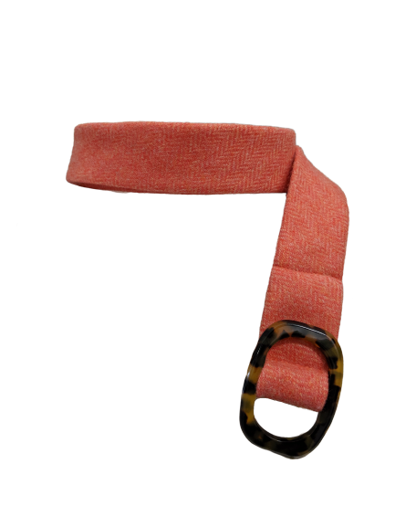 J. Crew Wool Belt with Tortoise Shell Buckle