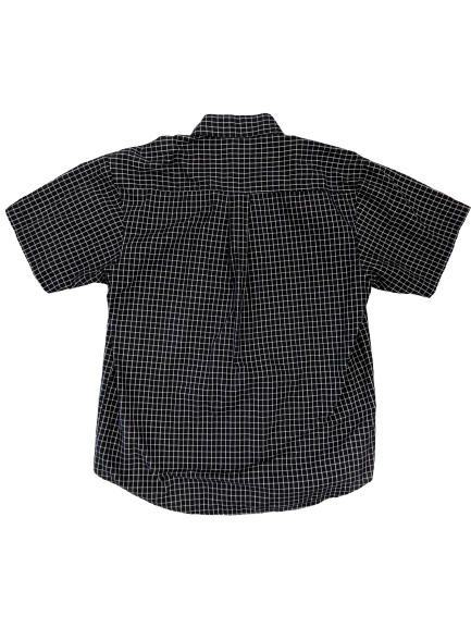 [M] Vintage Lacoste Tattersall Check Button-Up