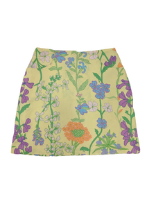 [M] 90s Lilly Pulitzer Floral Skirt