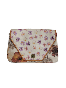 Anthropologie Miss Albright Floral Clutch