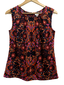 [S] Merona Abstract Print Sleeveless Top