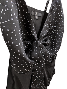 [XS] Missguided Polka Dot Bodysuit