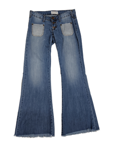 [XS] NWT One Teaspoon Low Rise Wide Leg Jeans