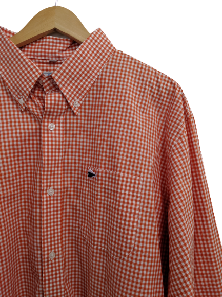 [XXL] Southern Lure Gingham Button-Down Sport Shirt
