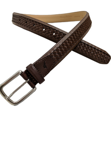 NWT Tommy Bahama Brown Leather Belt