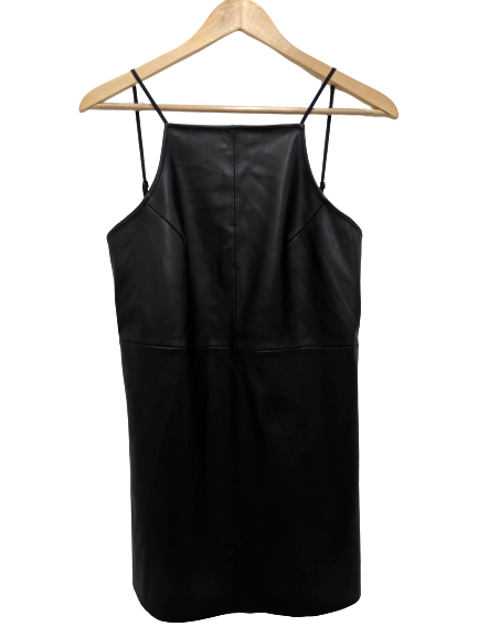 [S] NWT Urban Outfitters Faux Leather Dress
