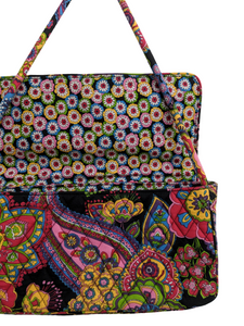 Vera Bradley Quilted Knot Detail Shoulder Bag