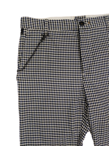 [31] Zara Man Gingham Pants with Chain