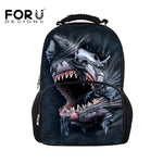 Bad Ass Shark Back Pack