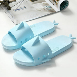 Womens rubber Shark Flip Flops/slippers