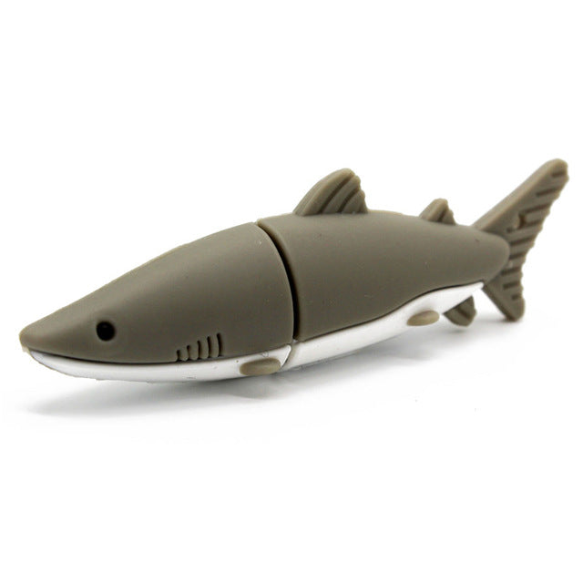 Assorted Size USB Flash Drive 'shark style' 4GB 8GB 16GB 32GB