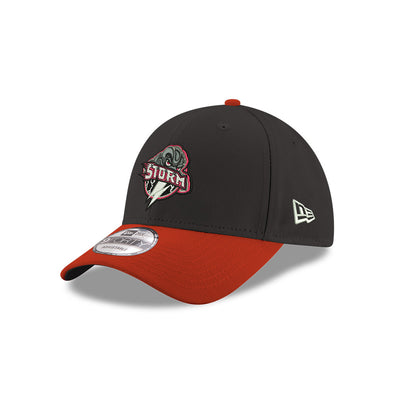 Lake Elsinore Storm Cloud Logo 9Forty Stretch Snap Adjustable Cap