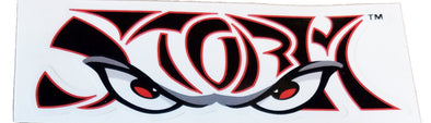 Lake Elsinore Storm Wordmark Logo Die Cut Decal