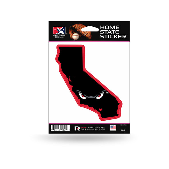 Lake Elsinore Storm Home State Sticker