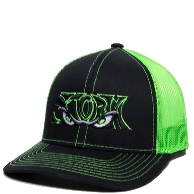 Lake Elsinore Storm Neon Green Snapback