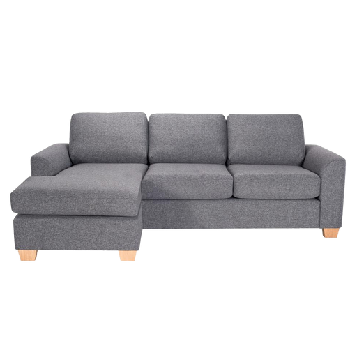 Easy | Sofa mit Récamiere | Anthrazit