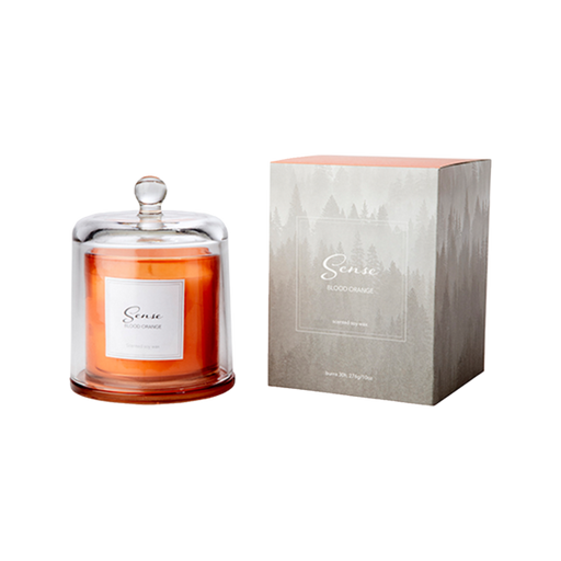 SENSE SCENTED CANDLE WITH DOME | BLOOD ORANGE