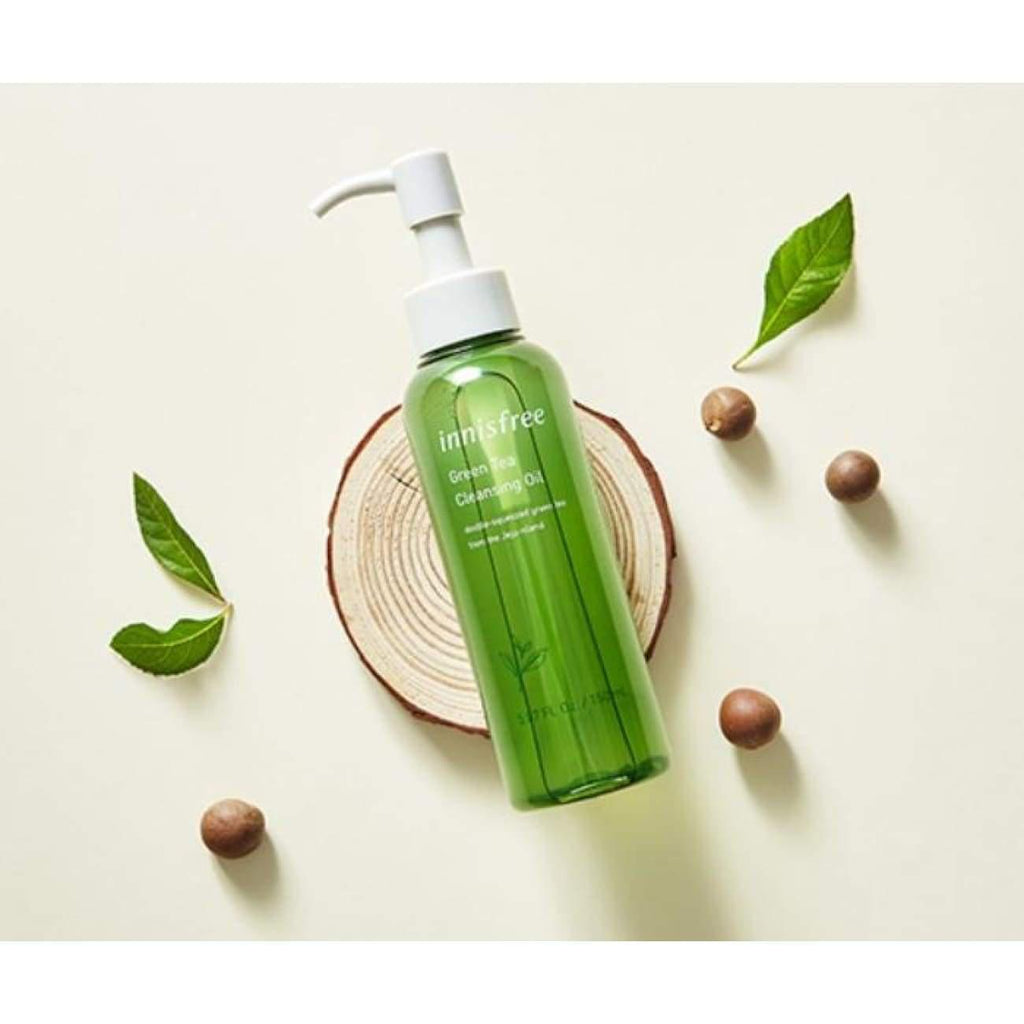 15pcs [INNISFREE] Green Tea Cleansing Oil 1ml (Sample Sachet) - BuyK.KR