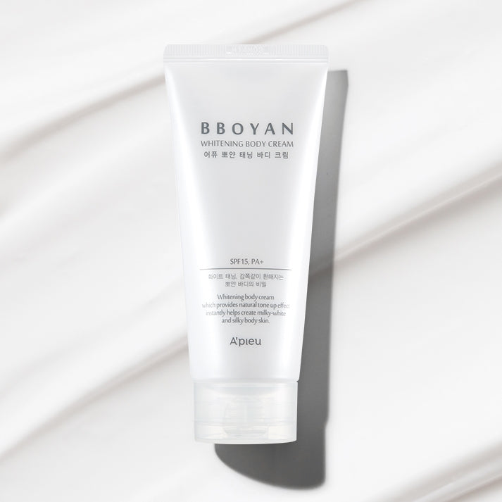 [A'PIEU] Bboyan Whitening Body Cream 130ml (SPF15/PA+) - BuyK.KR