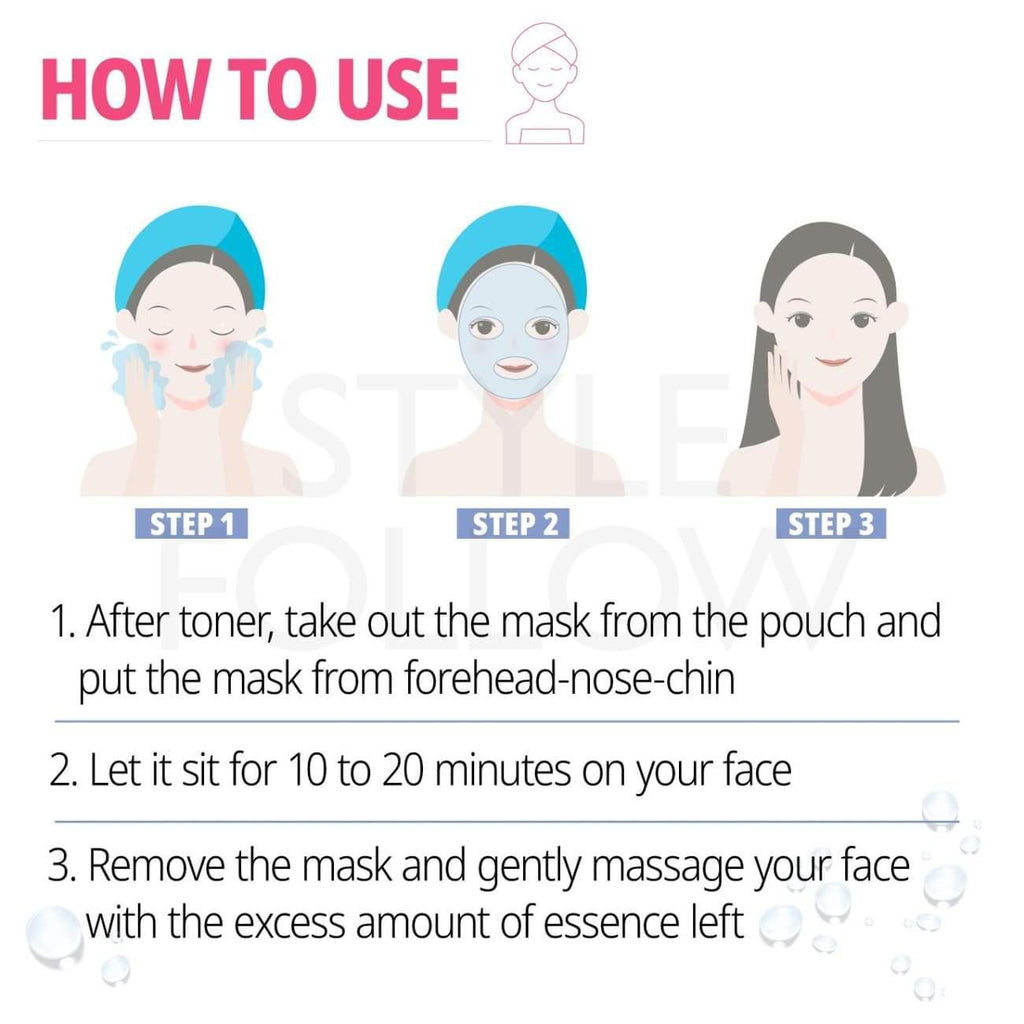5pcs [ETUDE HOUSE] 0.2 Theraphy Air Mask #Teatree (Sample) - BuyK.KR