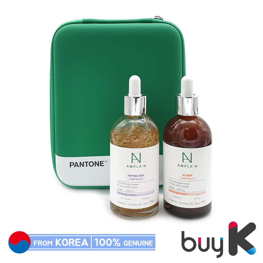 [AMPLE:N] Peptide Shot 100ml + VC Shot Ampoule 100ml [Special Set] - BuyK.KR