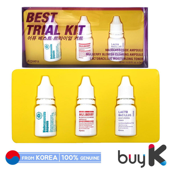 [A'PIEU] Best Trial Kit (Include 3 items)