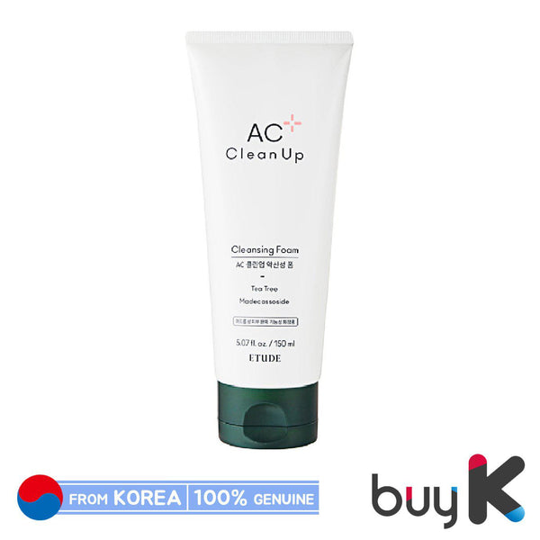 [ETUDE HOUSE] AC Clean Up Cleansing Foam 150ml