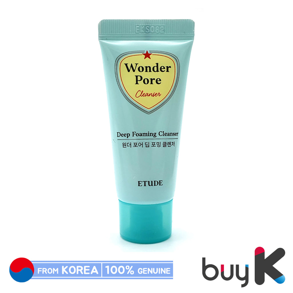 [ETUDE HOUSE] Wonder Pore Deep Foaming Cleanser 20ml (Sample) - BuyK.KR