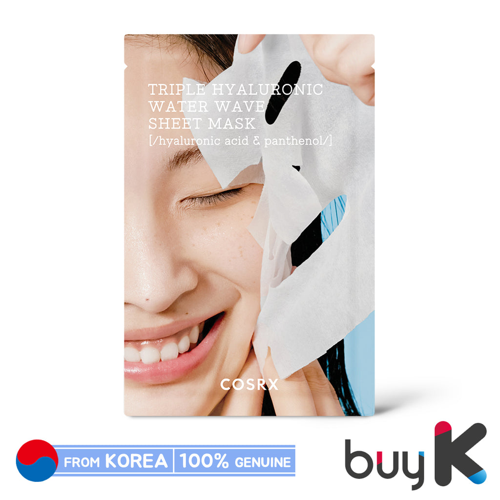 [COSRX] Hydrium Triple Hyaluronic Water Wave Sheet Mask 20ml - BuyK.KR