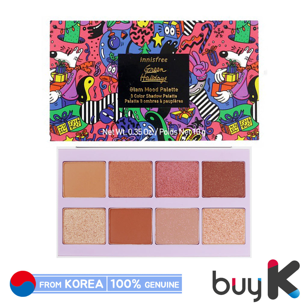 [INNISFREE] Glam Mood Palette 10g (Green Holiday Edition) - BuyK.KR