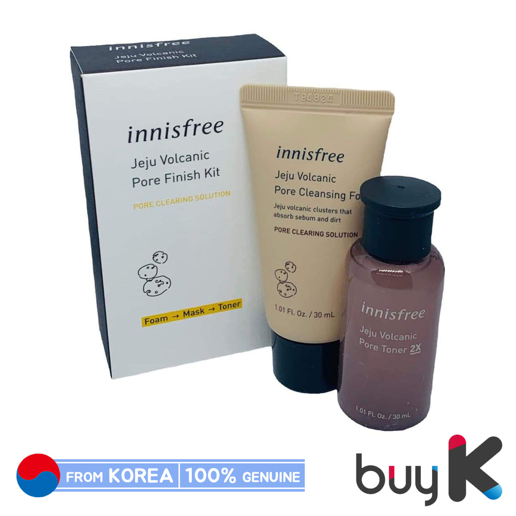 [INNISFREE] Jeju Volcanic Pore Finish Kit