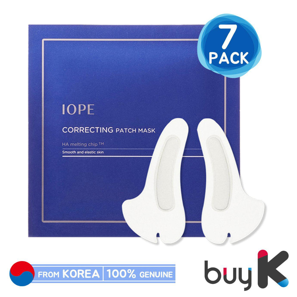 [IOPE] Correcting Patch Mask (1 box / 7 pack) - BuyK.KR