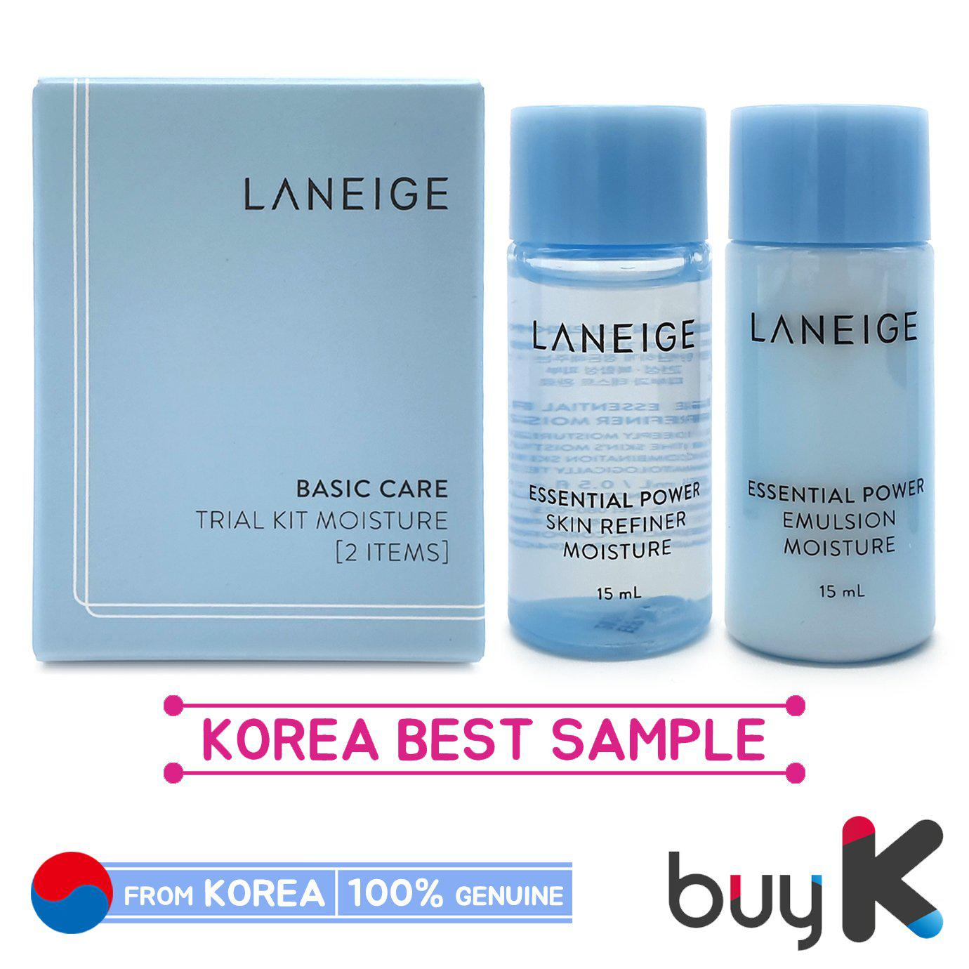 [LANEIGE] Basic Care Trial Kit Moisture (1 box / 2 items)