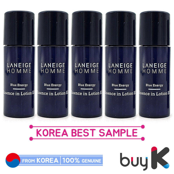 5pcs/25ml [LANEIGE] Homme Blue Energy Essence In Lotion EX 5ml (Sample)