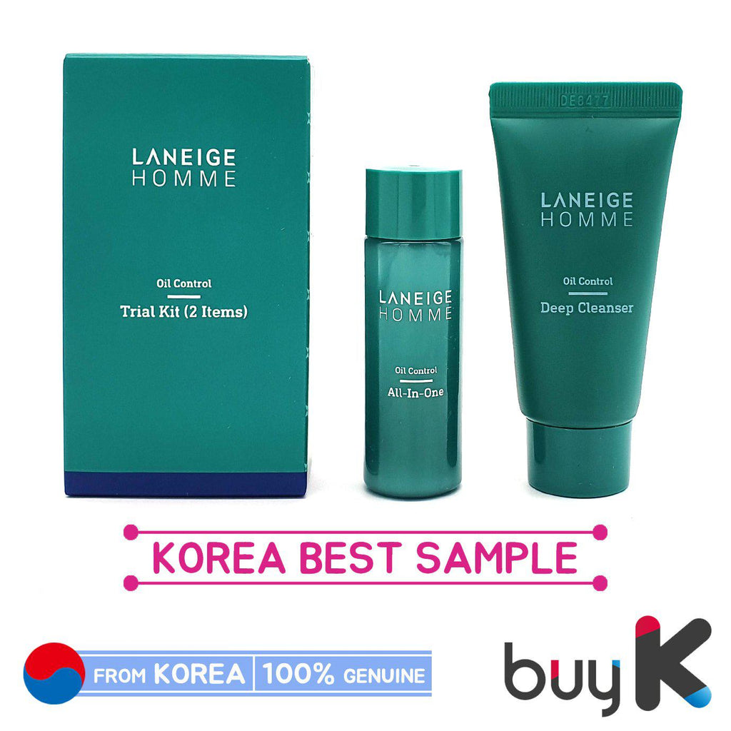 [LANEIGE] Homme Oil Control Trial Kit (Include 2 items)