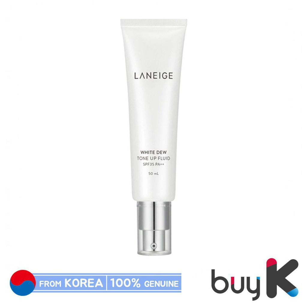 [LANEIGE] White Dew Tone Up Fluid 50ml (SPF35/PA++) - BuyK.KR