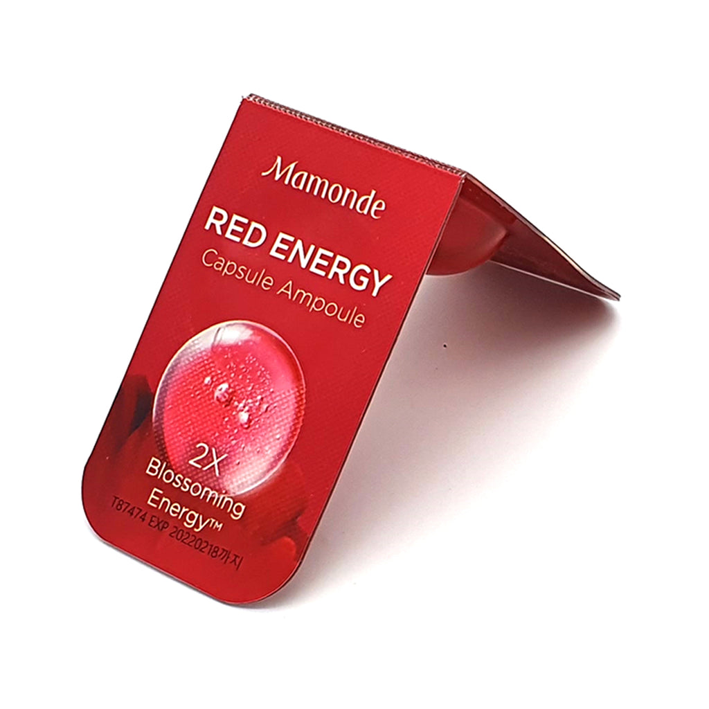[MAMONDE] Red Energy Capsule Ampoule 1.5ml X 2ea - BuyK.KR