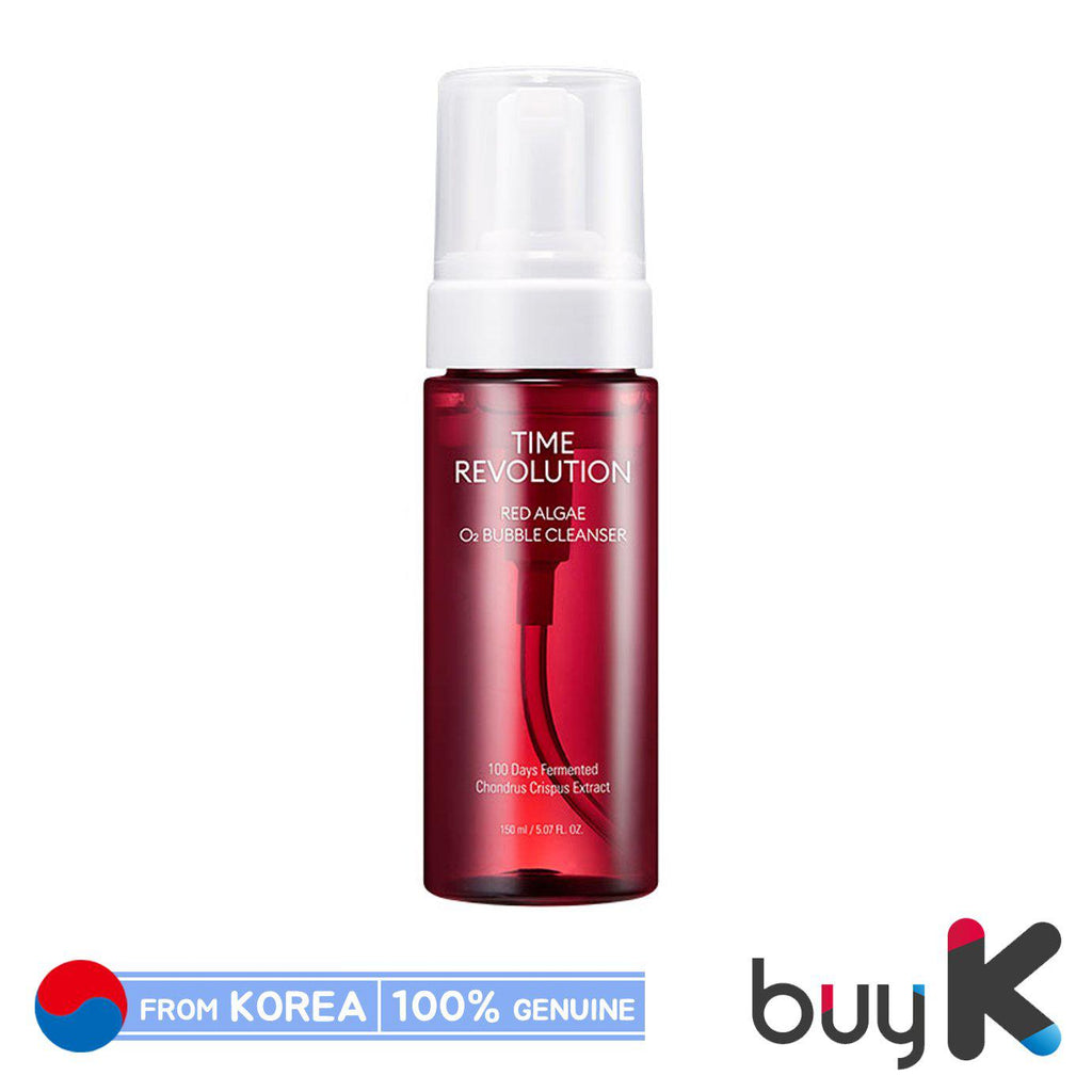 [MISSHA] Time Revolution Red Algae O2 Bubble Cleanser 150ml - BuyK.KR
