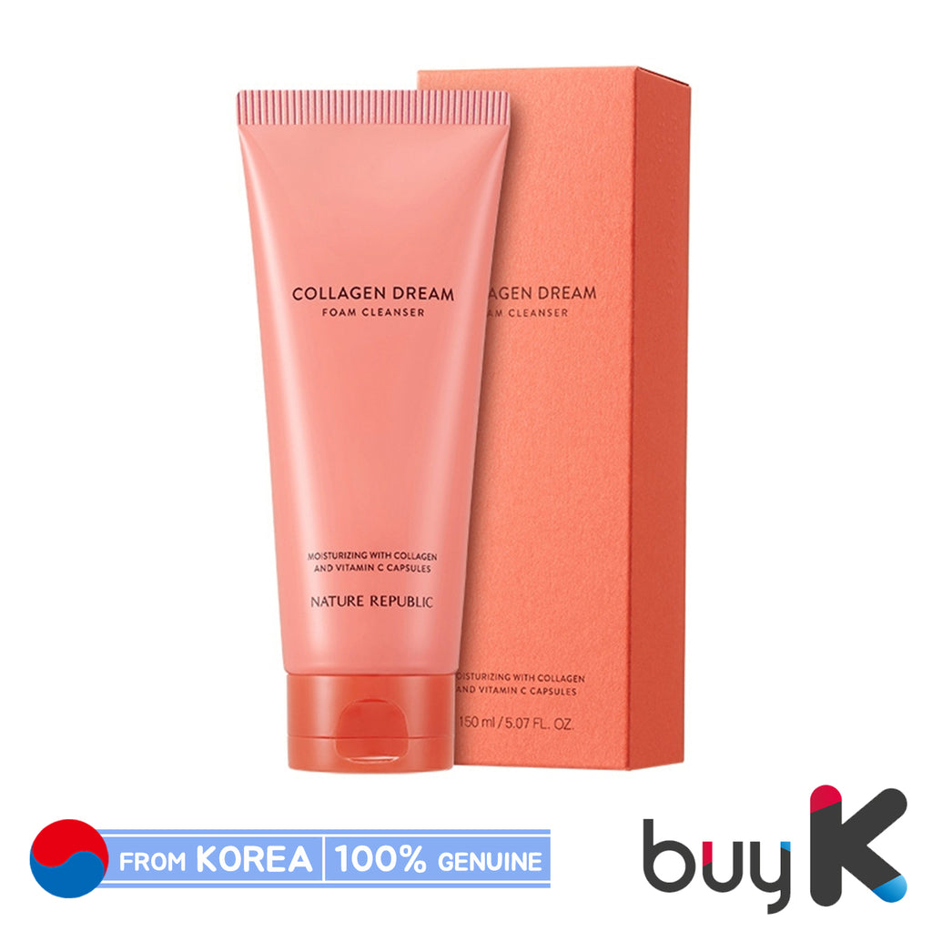 [NATURE REPUBLIC] Collagen Dream Vitamin C Capsule Foam Cleanser 150ml - BuyK.KR