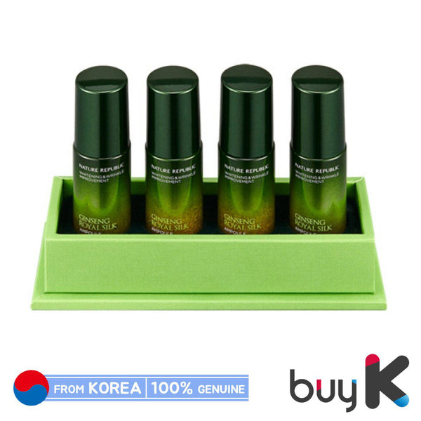 [NATURE REPUBLIC] Ginseng Royal Silk Ampoule 17ml*4ea - BuyK.KR