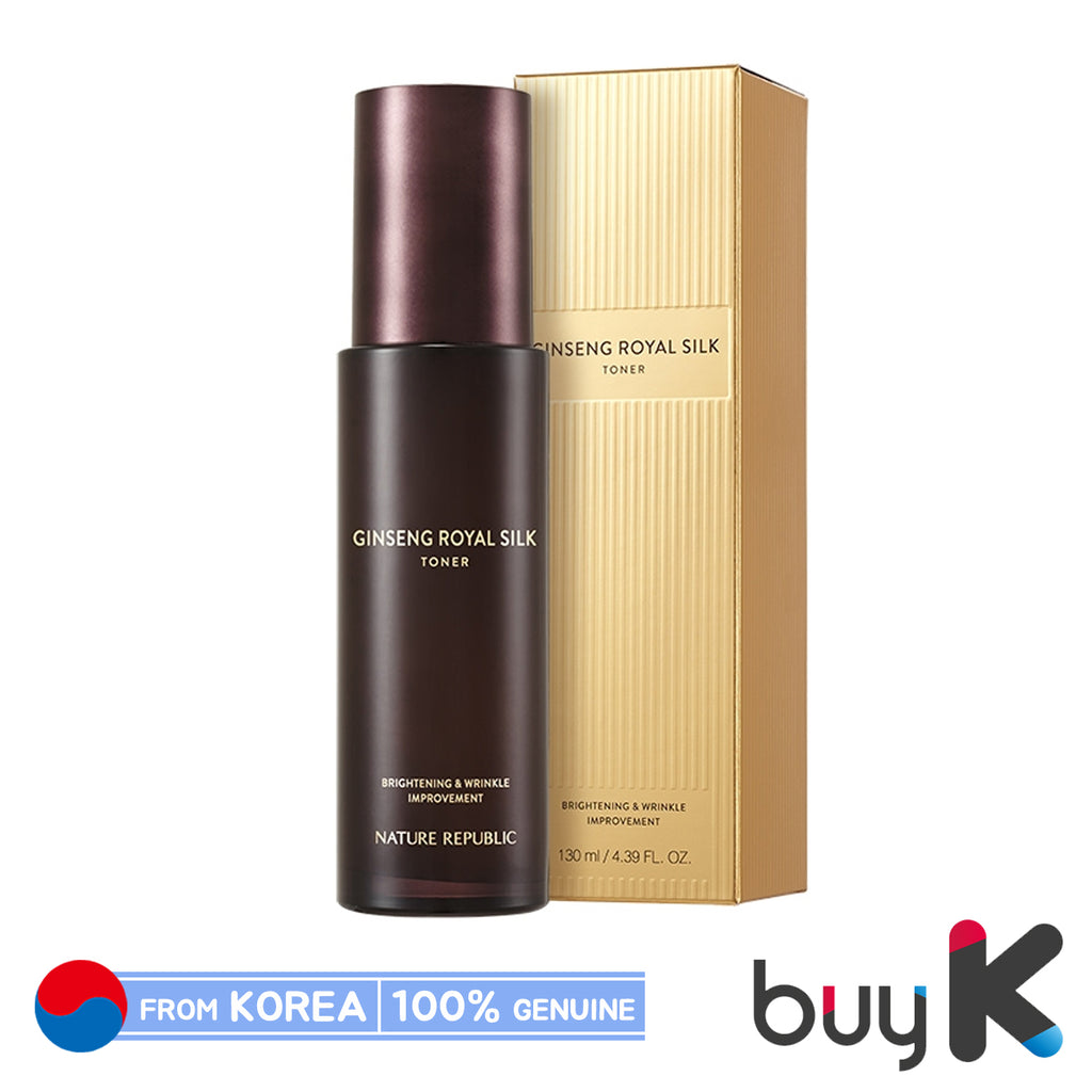 [NATURE REPUBLIC] Ginseng Royal Silk Toner 120ml - BuyK.KR