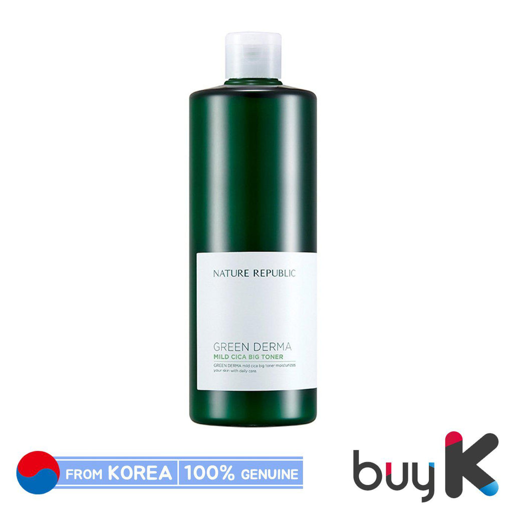 [NATURE REPUBLIC] Green Derma Mild Cica Big Toner 500ml - BuyK.KR