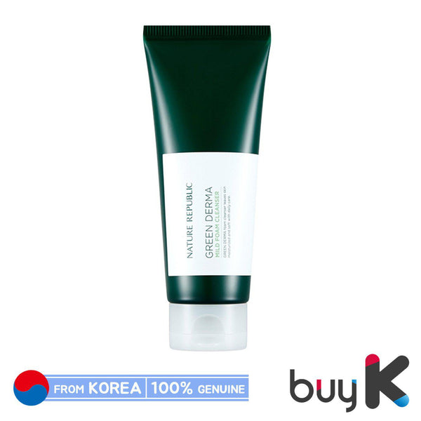 [NATURE REPUBLIC] Green Derma Mild Foam Cleanser 150ml