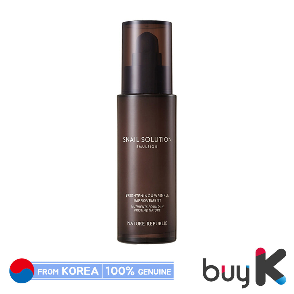 [NATURE REPUBLIC] Snail Solution Emulsion 120ml - BuyK.KR