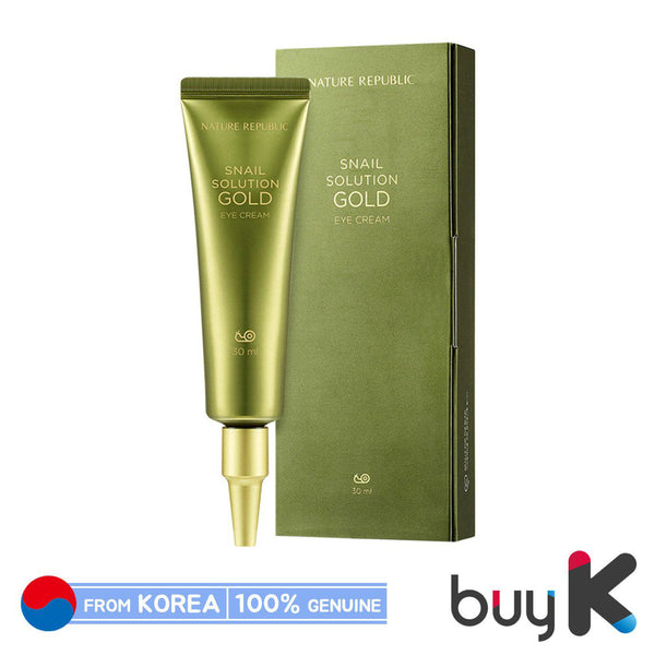 [NATURE REPUBLIC] Snail Solution Gold Eye Cream 30ml