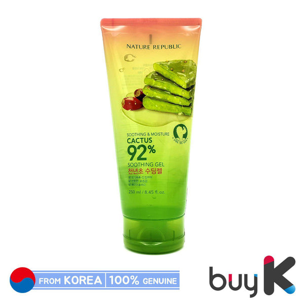 [NATURE REPUBLIC] Soothing & Moisture Cactus 92% Soothing Gel 250ml